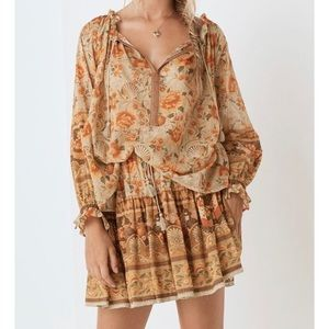 SPELL Seashell blouse NWT